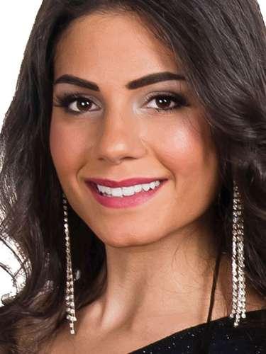Miss Líbano - Rita Houkayem, tiene 22 años de edad, mide 1.78 metros de estura (5 ft 10 in)y reside en Beirut.