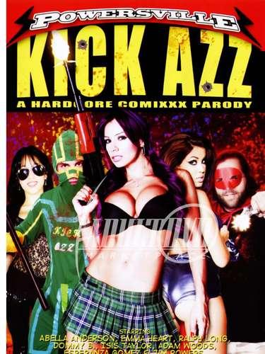 Junto a la cubana Abella Anderson protagonizó la parodia de 'Kick-Ass', titulada 'Kick Azz: A Hardcore XXX Parody'. Nunca la habíamos visto tan salvaje en escena.