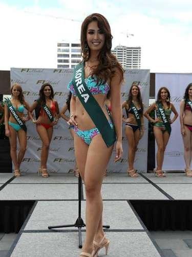 Miss Corea - Catharina Choi, tiene 23 años de edad, mide 1.73 metros de estura (5 ft 8 in) y reside en Seúl.