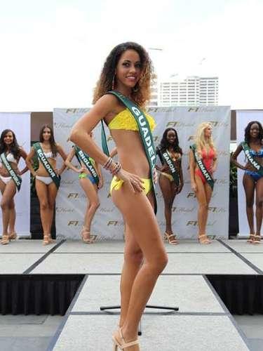 Miss Guadalupe - Marie Vaitilingon, tiene 19 años de edad, mide 1.70 metros de estura (5 ft 7 in)y reside en Le Moule.