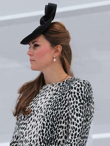 Kate Middleton se dejó ver poco en el primer trimestre de su embarazo, pero desde que su posible gestación se rumoró los paparazzi estuvieron detrás de ella más que siempre.