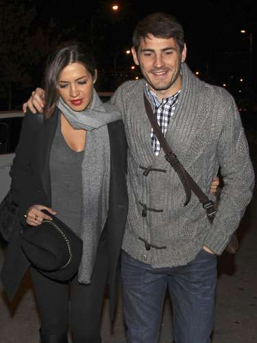 Iker Casillas y Sara Carbonero disfrutaron de una romántica antes de convertirse en padres este próximo mes de enero.