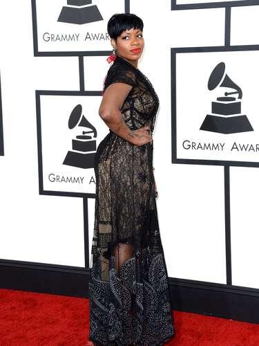 Fantasia Barrino presumió curvas y actitud en los Grammy