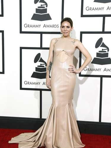 Skylar Grey no podía esconder su emoción al estar en los Grammy