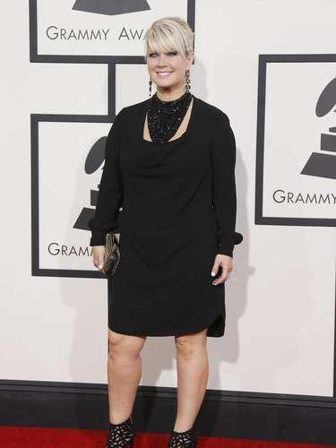 La cantante y compositora Natalie Grant en la entrega 56 del Grammy