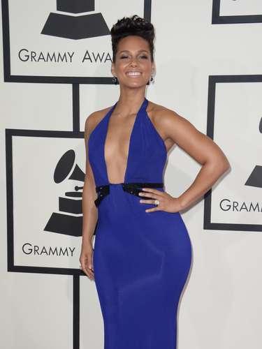 Alicia Keys no podía verse más bella y hermosa