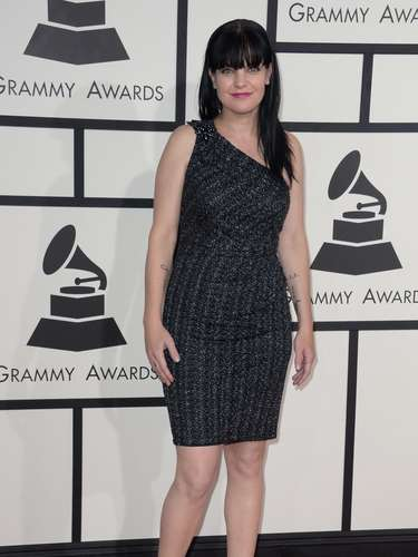 Pauley Perrette dejó el set d televisión para presentarse en los Grammy
