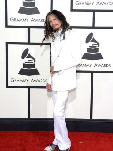 Steven Tyler llegó muy estrafalario a los Grammys pero él puede hacer lo que quiera, ¡ya es una leyenda!