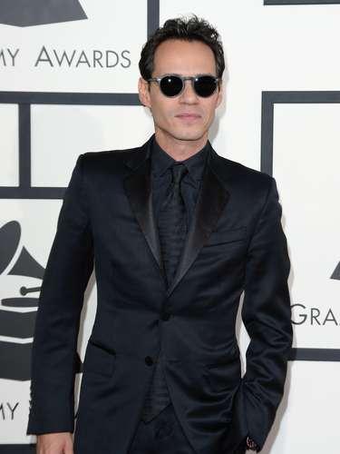 Marc Anthony llegó solito y sin su novia Cloe a los Grammy.