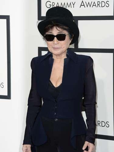 Yoko Ono estaría segura del lugar al que iba a ir ¿Juzguen ustedes?