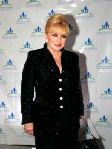 La actriz también sufrió cáncer de mama en 1997, enfermedad de la que, por fortuna, logró recuperarse.
