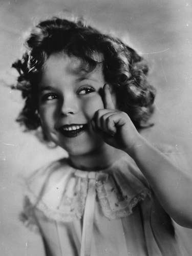 Shirley Temple en 1934.