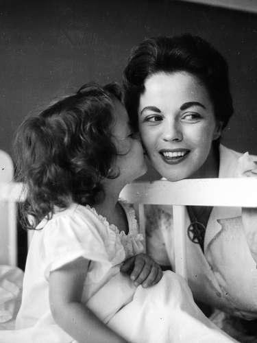 Shirley en 1957.