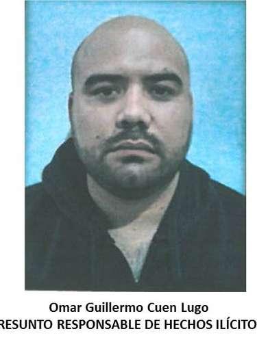 En la colonia Los Álamos, policías federales ubicaron a Omar Guillermo Cuen Lugo.