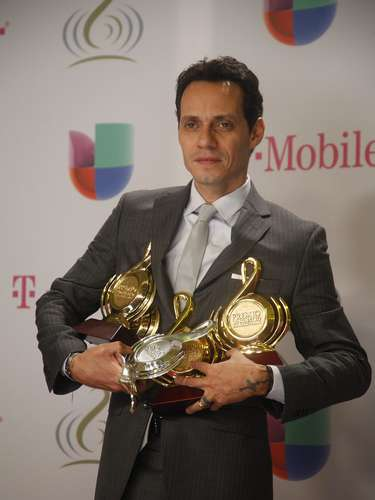 Marc Anthony para reconocer a sus \