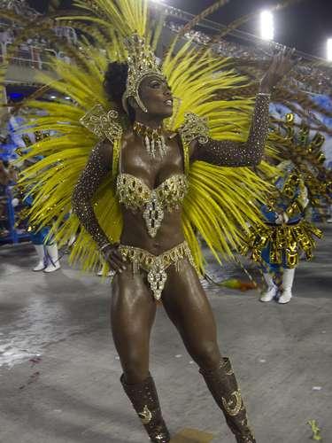 Las mujeres del Carnaval de Rio de Janeiro.