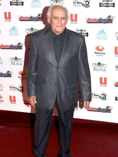 Jorge Arvizu, El Tata.-El actor mexicano falleció la madrugada del martes 18 de marzo a los 81 años, debido a una insuficiencia cardiaca. A principios de enero, Arvizu estuvo internado durante 10 días luego de sufrir un infarto cardiaco.