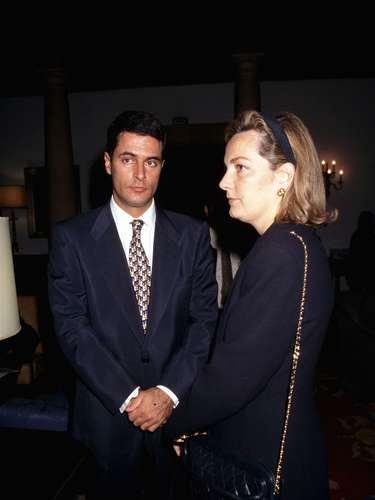Su hija Marian, que le dio a sus dos nietos mayores, junto a Adolfo Suárez Jr., su hijo más mediático y que durante algún tiempo incluso se dedicó a la política.