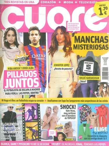 Coure revela el nombre de una de las nuevas parejas de la temporada: Hiba Abouk y el jugador del Barça Jordi Alba, quien al parecer ha viajado a la capital para ver a la actriz.