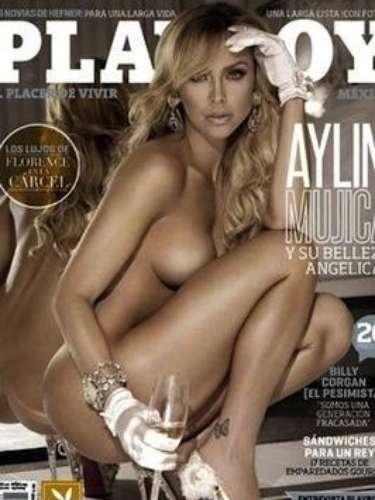 Aylín Mujica.-La actriz cree que los desnudos son maravillosos, así que no tiene problema con mostrarse en la revista del conejito en su versión mexicana, tal como vino al mundo.