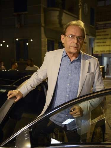 José Wilker fallecióeste sábado a la mañana, víctima de un infarto fulminante, en su casa de Río de Janeiro.En esta foto, el actor en'Amor à Vida'
