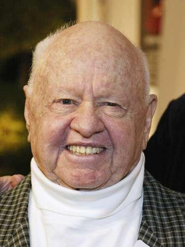 Mickey Rooney.-El actorfalleció el domingo 6 de abril por causas naturales a los 93 años, informó el portal de internet TMZ, que indicó que la salud del intérprete se había deteriorado desde hacía tiempo.