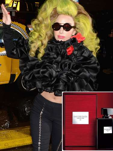 Lady Gaga se dispone a lanzar al mercado el próximo otoño su nueva fragancia, Eau De Gaga, un aroma unisex que incorpora notas de violeta, maderas embriagadoras, cuero y un toque de cítricos