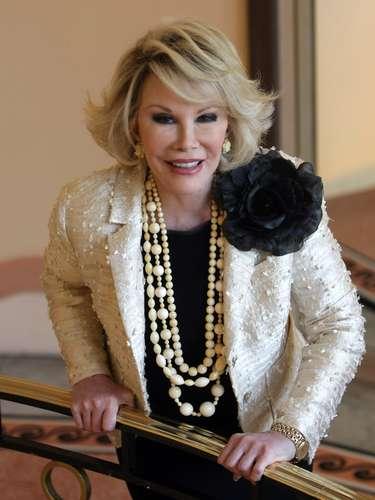 Joan Rivers.- La famosa presentadora y comediante estadounidense murió el jueves 4 de septiembre en un hospital de Nueva York. La conductora de \