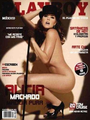 Alicia Machado (Julio de 2010).
