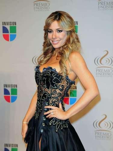 Elizabeth López - Se vienen los Premios Lo Nuestro A La Música Latina y para ir calentando el ambiente te traemos los escotes más llamativos  y sensuales que han llevado las espectaculares féminas a través de los años en su paso por la alfombra roja en la gran fiesta de la música latina.