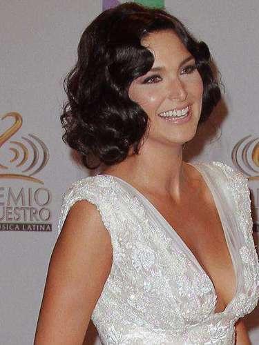 Blanca Soto acaparó muchas miradas mientras desfilaba elegantemente vestida por la alfombra roja.