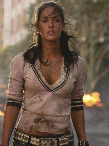 Megan Fox retomó su sensual rol en 'Transformers' para la secuela estrenada en 2009.