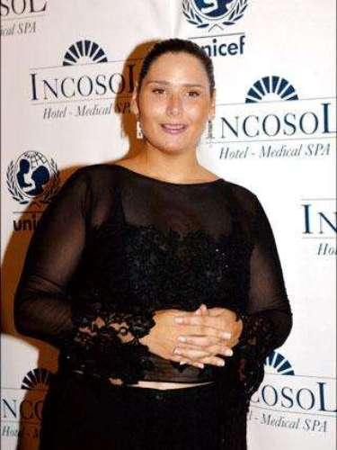 Rosa López en 2004 había iniciado su cambio. Las dietas eran algo habitual en ella