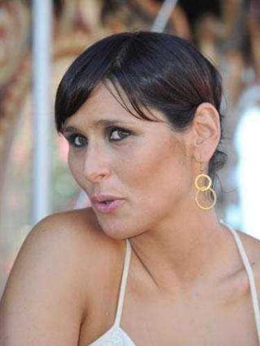 Rosa López en julio de 2011 con pelo corto liso y flequillo a un lado