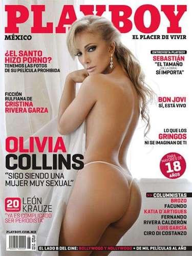 Olivia Collins también sorprendió al público porque se desnudó a los 52 años. La actriz mostró su faceta más sensual sin reparos y sin arrepentimientos en septiembre de 2010.