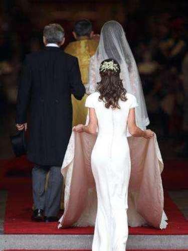 La polémica Pippa Middleton no se resiste a ser admirada.
