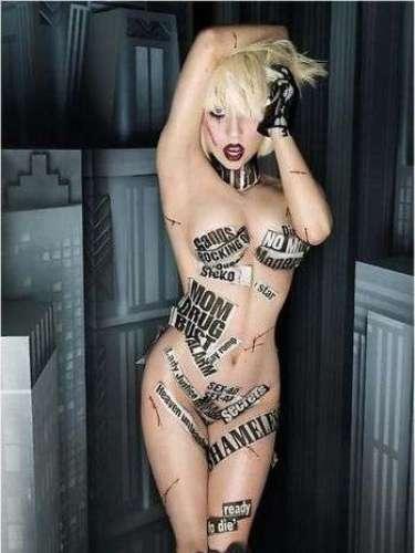 Con imágenes eróticas, la artista causa polémica.