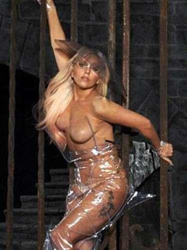 Lady Gaga, sin nada de ropa, le hizo publicidad al \