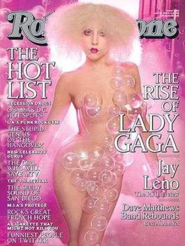 Stefani Germanotta, despertó los bajos instintos de muchos, al lucir sus curvas en la portada de la revista Rolling Stone.