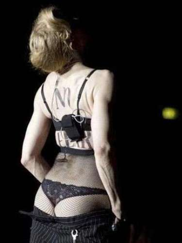 In Italy, they could not get enough of her backside!