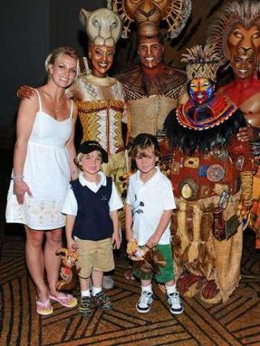 Con el tiempo, Spears se ha vuelto una abnegada madre que comparte al máximo con sus hijos.