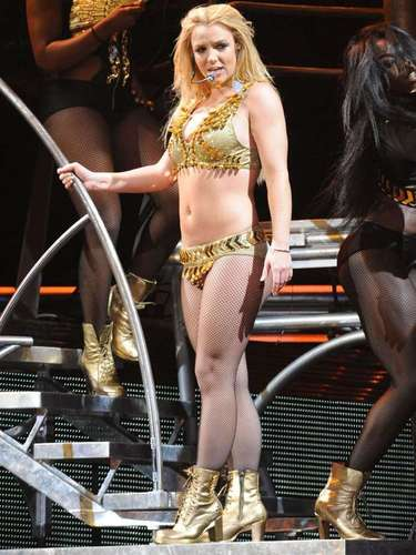 Britney Spears took the world by storm with her \