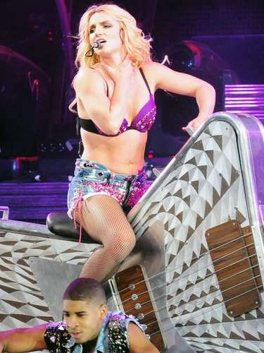 Britney continues to be productive and little by little those dark days are only a thing of the past.