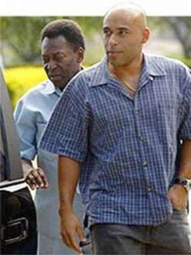 Edinho, son of the legend, Pele, was accused of murdering retiree in 1992 after running over the man. The charges were dismissed in 2004.
