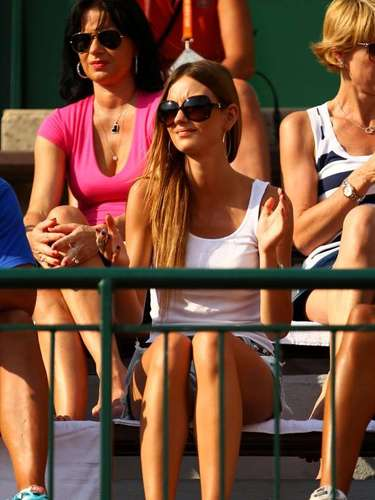 Ester Satorova is the girlfriend of Czech tennis player Thomas Berdych.