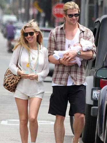 Chris Hemsworth adora su vida familiar. El marido de la actriz española Elsa Pataky reconoce que su hija India Rose, que ya tiene cinco meses, es lo más importante de su vida. \