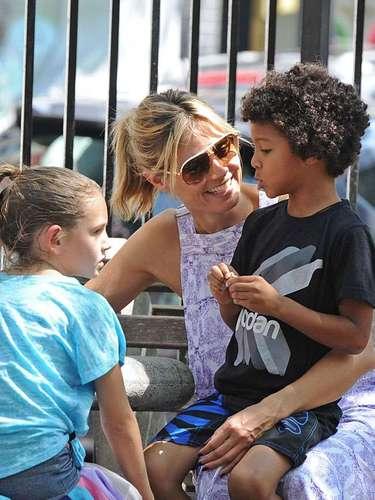 Heidi Klum siente devoción por sus hijos. La famosa maniquí afirma que sus hijos lo son todo para ella, y juntos, ya planean sus vacaciones de Navidad.\