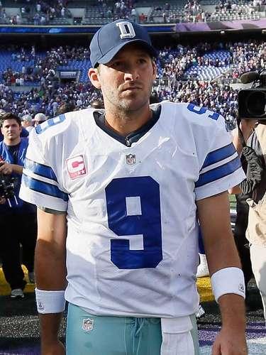 Tony Romo (Quarterback-Dallas Cowboys): No sólo brilla por su talento, también por su evidente atractivo físico, en especial su trasero.