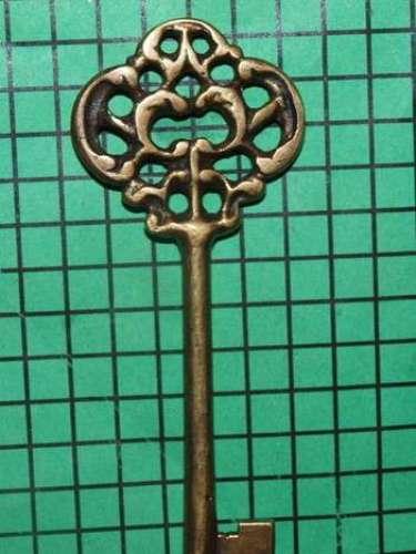 Llave antigua para coleccionar. La encuentras por 26 dólares en ebay.com.