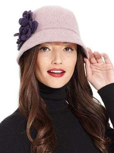 Sombrero para combatir el frío con estilo. 32 dólares en Macys.com.